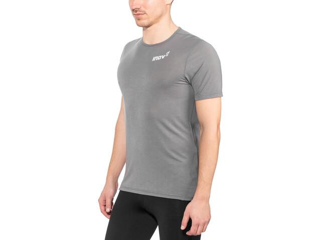 inov-8 AT/C Dri Release Koszulka do biegania z krótkim rękawem Mężczyźni szary